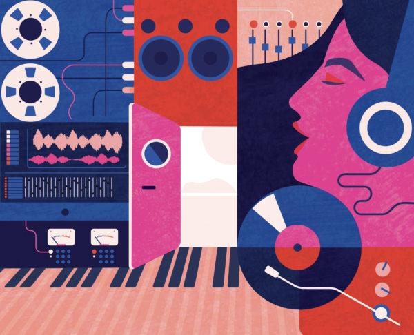 Illustration pour la couverture de The Contemporary Music Review