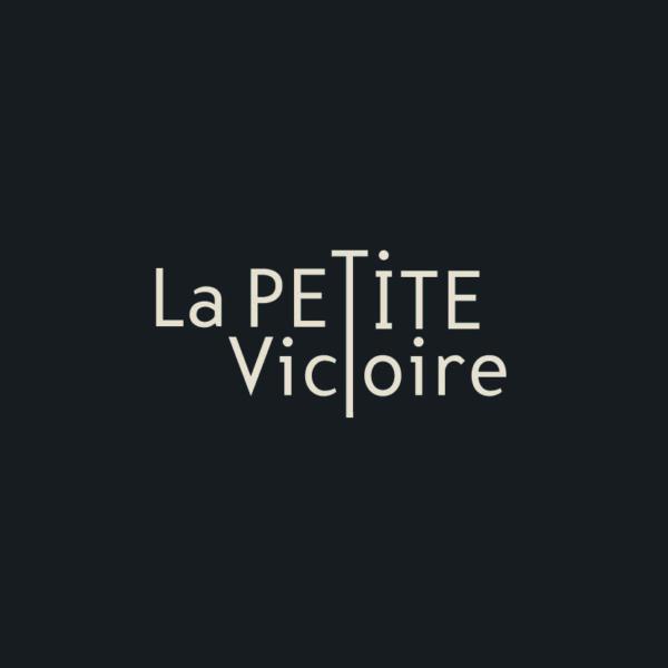 Identité visuelle - Logo du restaurant La petite Victoire